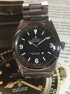 非常罕有80年代舊裝Rolex Explorer 1016  369