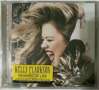 [Music Empire] Kelly Clarkson - Meaning Of Life CD Album
