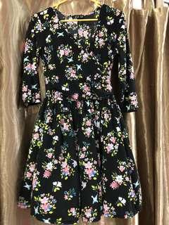 Promotion-Flora Black Dress