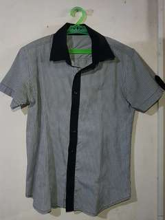 Patterned Short-sleeved Polo