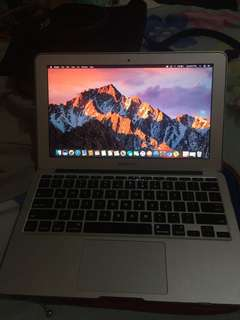 Macbook Air 11-inch 2011 model