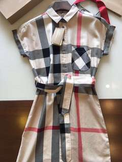 Burberry dress in 6 colors