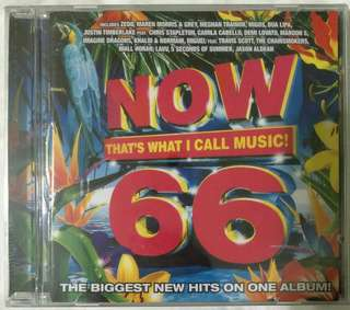 [Music Empire] Now 66 That's What I Call Music CD Album