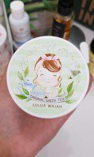 Lulur wajah greentea