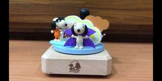 Snoopy & Friends wooden musical box