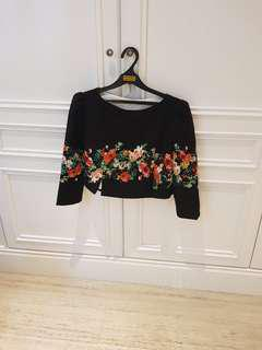 Dolce and gabanna crop top