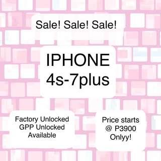 IPHONE 4s - 7plus