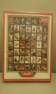 Original Coca-Cola Brand Jigsaw Puzzle Collection (Made in Japan)