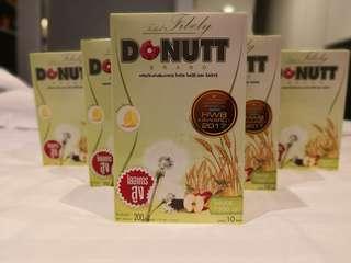 泰國Donutt人氣高纖維排毒酵素(1盒10包)單盒, 減肥,美容,瘦身,排毒