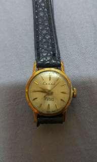 60年代瑞士Caral 14k 实金女装上鍊錶