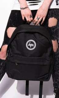Hype black backpack