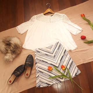 Zara Cotton Top