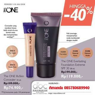 Concealer illuskin The One Oriflame