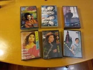 懷舊收藏~卡式錄音帶~ 6盒