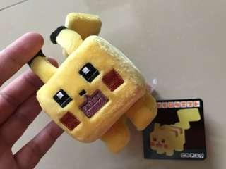 Pokemon比卡超鯉魚王四方型掛件 吊飾 掛飾