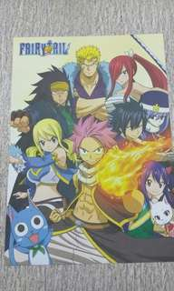 Poster A4 Fairy Tail x Bleach