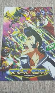 Poster A4 Space Dandy x Knights of Sidonia