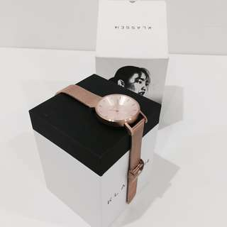 Volare Rose Gold Mesh 36mm