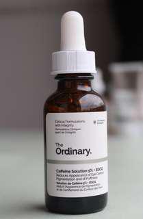 DECIEM The Ordinary Caffeine Solution 5% + EGCG - Full size -new