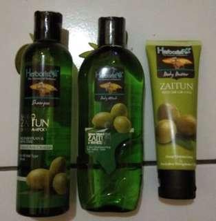 {PAKET HEMAT&MURAH} Herborist Shampoo, Sabun, and Body Butter