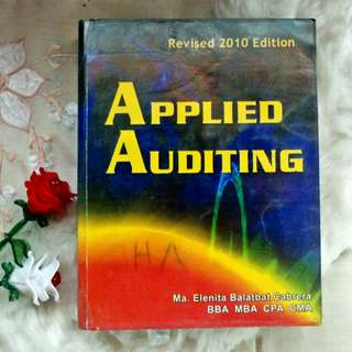 Applied Auditing Revised (Cabrera, 2010)