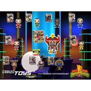Pre-order: 25th Anniversary Mighty Morphin Power Rangers Funko Pop! Set