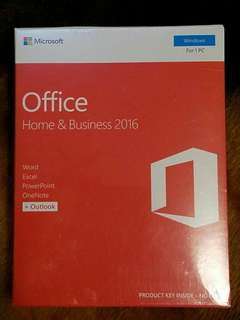 MS office 2016 H&B