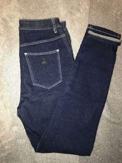 A Brand Blue Jeans