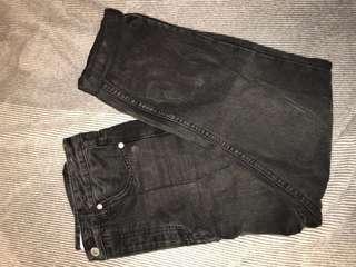 Assembly Label Black Mom Jeans