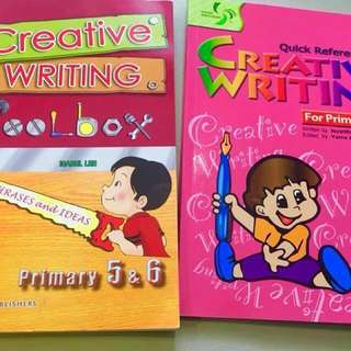 Buy 1 Get 1 FREE !! Buy CREaTivE Writing Toolbox for Pr 5&6 - and Get the other book FOC!