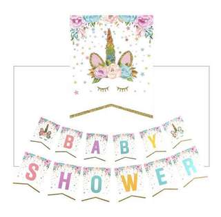 Baby Shower/Happy Birthday Banner