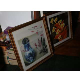 3D picture with frame