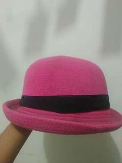 Bowler Hat Pink