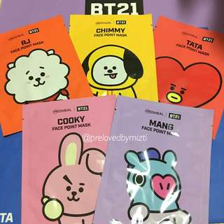 (PROMO) BT21 x MEDIHEAL FACE MASK