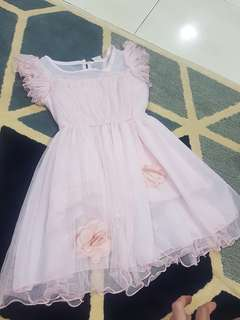 Kids Mesh Dress size 4-5yo