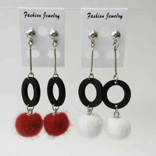 Ready !!! Anting Pom2 Juntai,Kayu