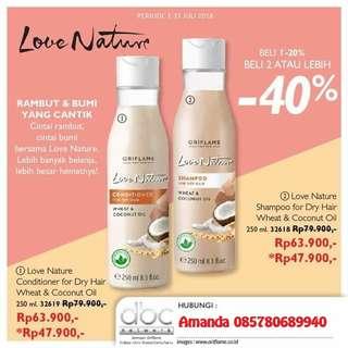 Love Nature Shampoo