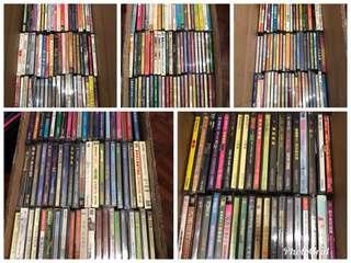 (10 July 2018 )300多套大部份絕版八丶九十年代港產片,電視劇VCD及陪份絕版演唱會VCD