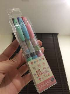 BRAND NEW TSUM TSUM SARASA PENS FROM JAPAN!