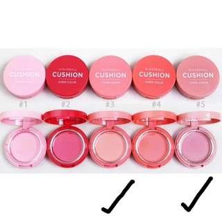 Aritaum Sugarball Cushion Cheek Color / Cream Blush