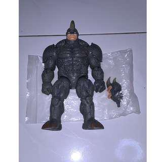 Marvel Legends Rhino Figure, Spider-man Villian Wave, Mint