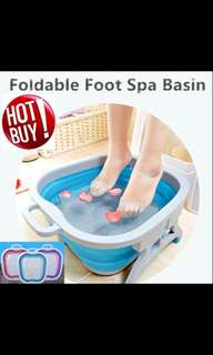 Massager/ Foldable Foot spa basin/ foot reflexology/ massage