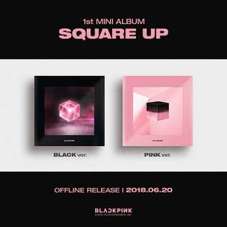 BLACKPINK - 1st MINI ALBUM 'SQUARE UP'