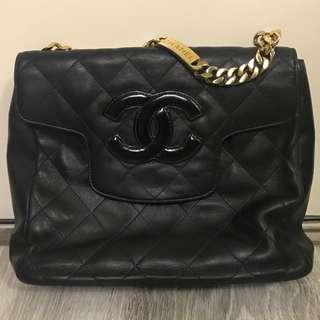 Chanel Vintage bag 復古Chanel羊皮手挽袋