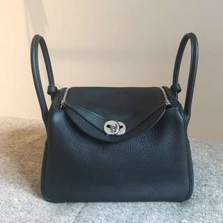 Hermes Lindy 26 + twilly (hold)