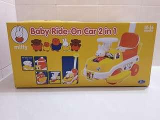 Miffy 米菲兔 雙用 滑步車 手推車