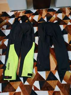 Alpinestar Andes and Rev'it riding pants