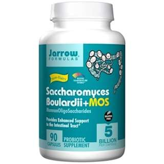 Jarrow Formulas, Saccharomyces Boulardii + MOS, 5 Billion, 90 Veggie Caps Healthy