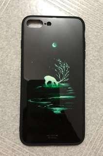 iPhone8 Plus 夜光手機殻