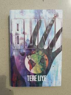 Novel Bumi by Tere Liye